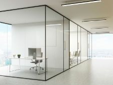 Glass partitions and Curtain walls